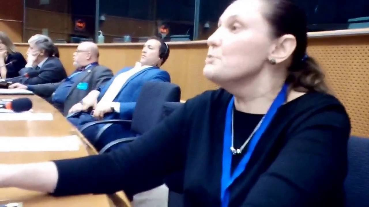 Выступление пани Монтян в Европарламенте 06.12.2016