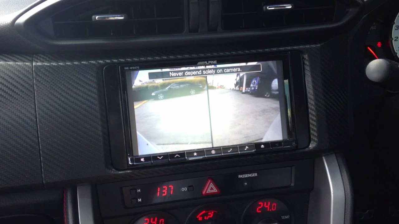 Alpine Hce C212f And Hce C210rd Front And Rear Camera
