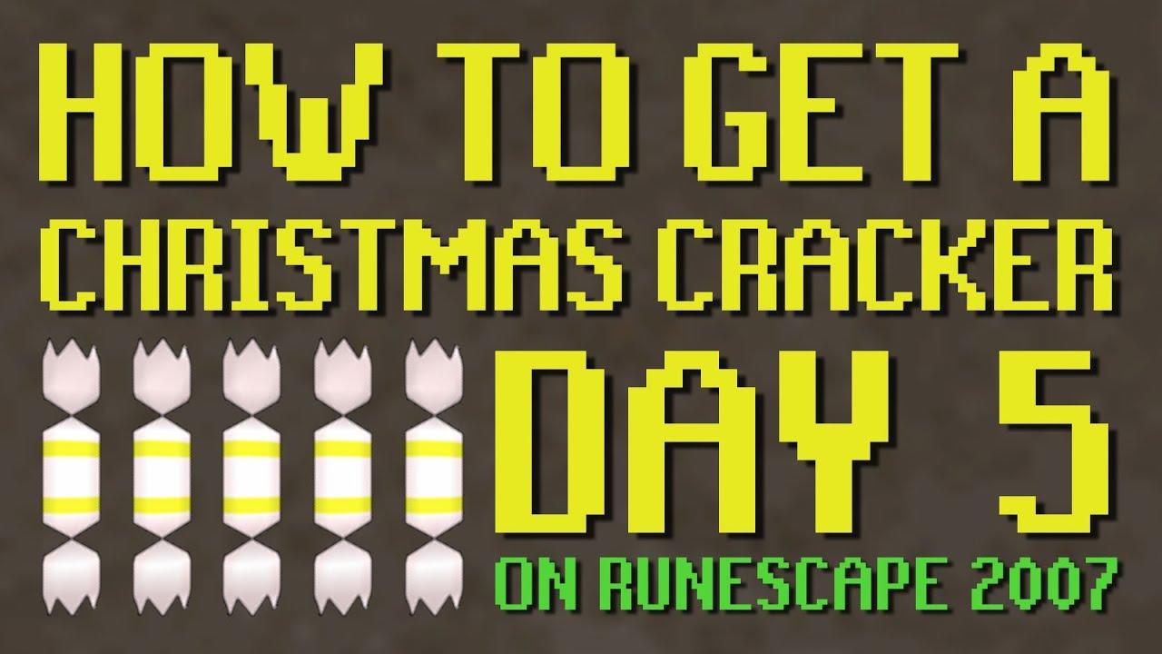 White apron runescape 2007 - Day 5 7 Christmas Cracker Cryptic Clue Runescape 2007 Old School Runescape