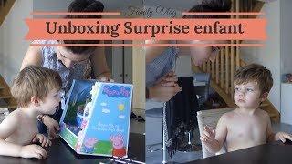 Unboxing surprise pour eden ! - Vlog famille