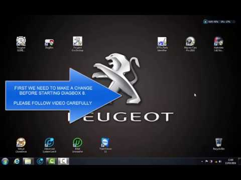 DIAGBOX 8 17 for CITROEN PEUGEOT (HOW TO INSTALL)