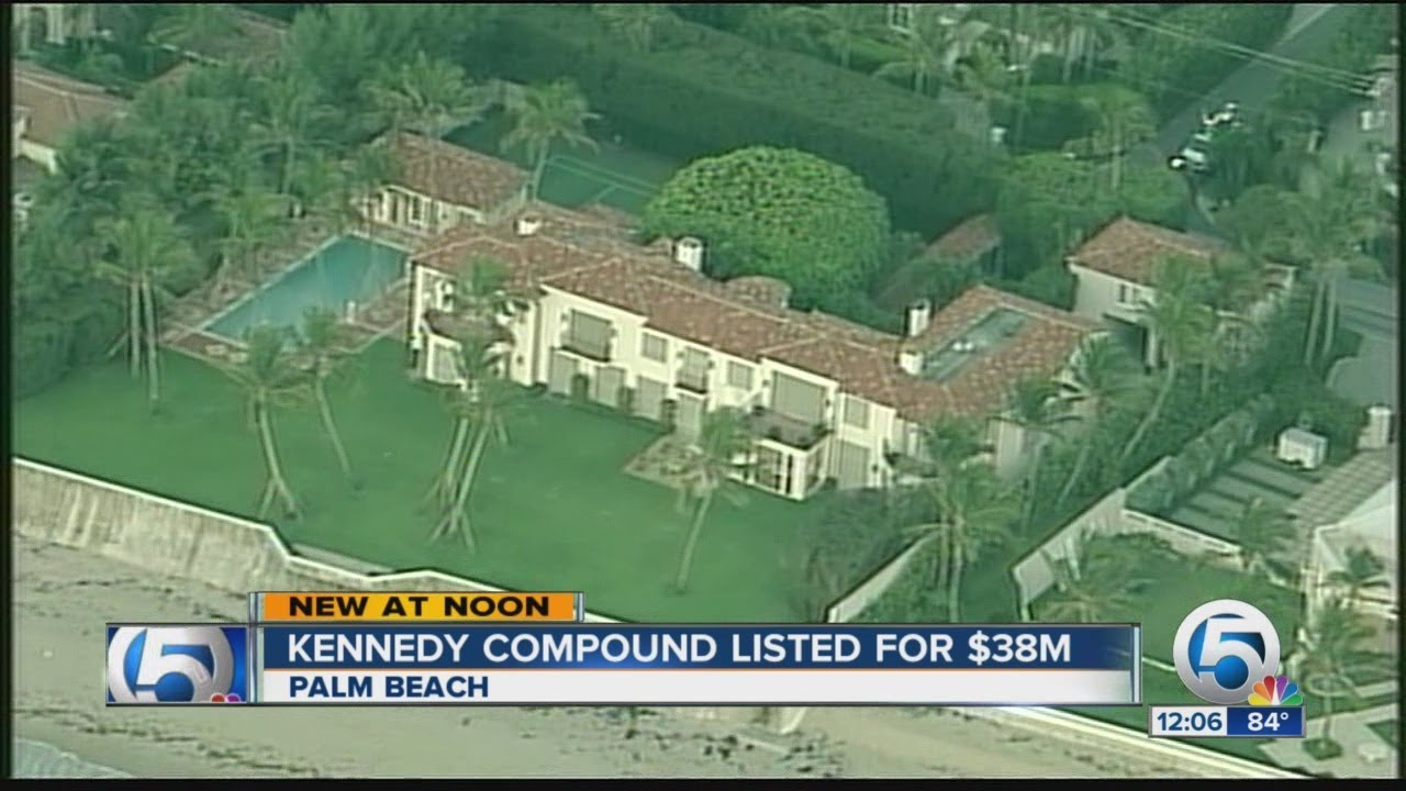 Kennedy Compound Listed For 38m Youtube
