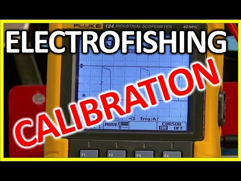 Electrofishing Equipment: How To Check The Calibration Of Electrofishing Backpack, Electric Fishing