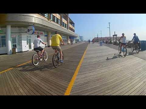 Atlantic City Boardwalk Bike Ride 8/25/2017 Part 2