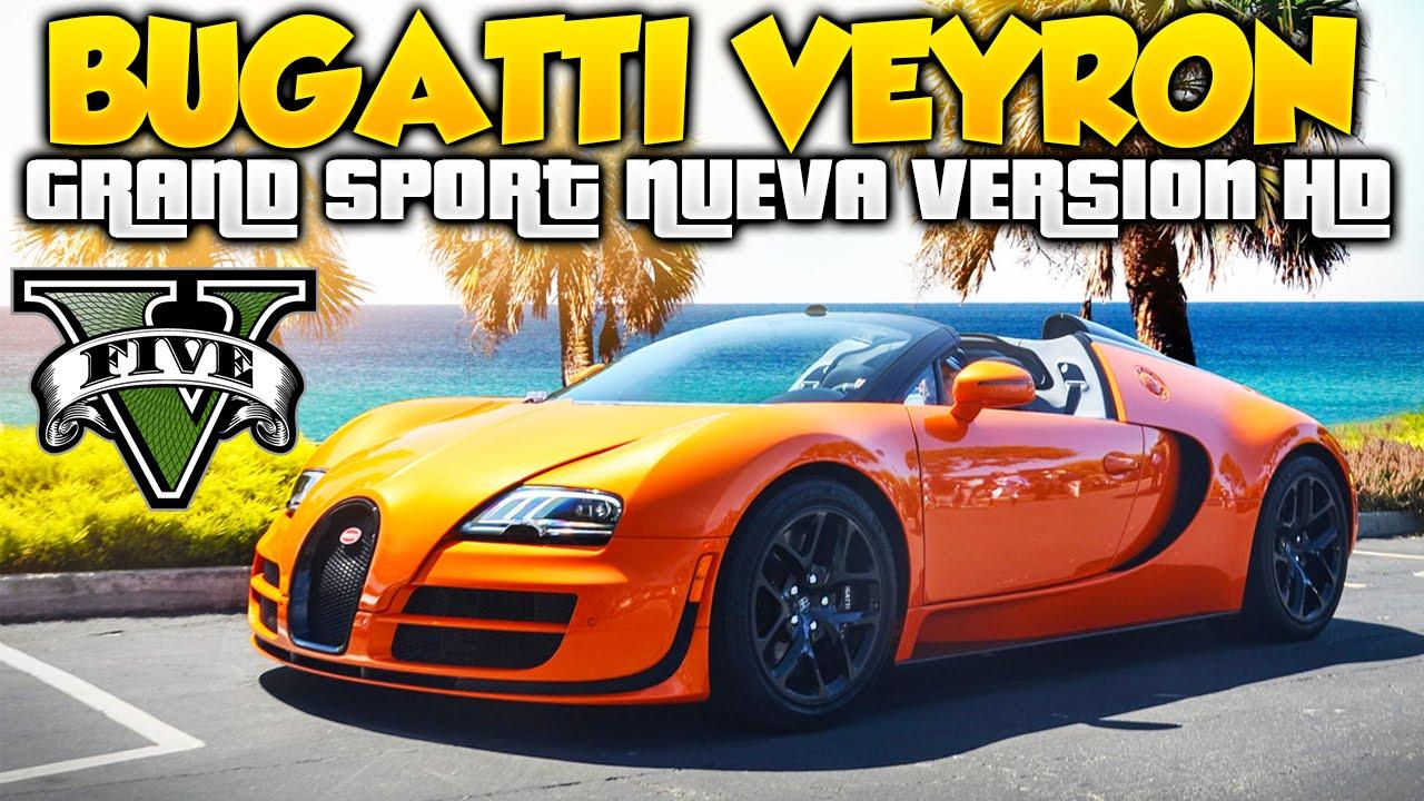 gta 5 nuevo bugatti veyron grand sport hd increible super. Black Bedroom Furniture Sets. Home Design Ideas