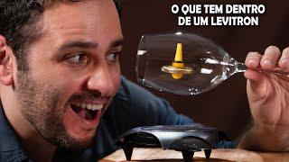 Como funciona a máquina de levitação magnética (levitron)