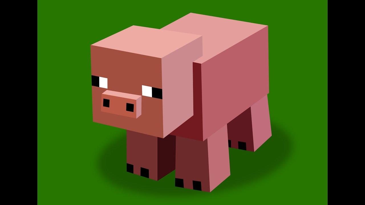 Minecraft le porc qui se fait violer feat kikilove youtube - Minecraft cochon ...