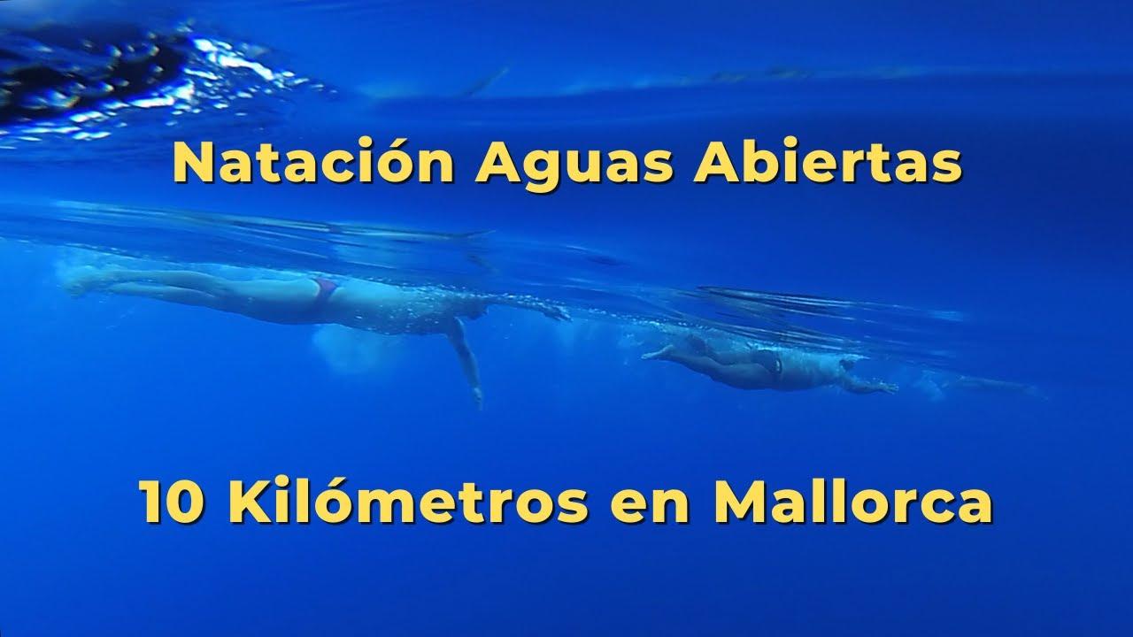 Travesía 10 Kilómetros de Natación 🏊♂️ Aguas Abiertas 🌊 con José Manuel López 🦈