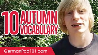 Learn the Top 10 Autumn Words in German!