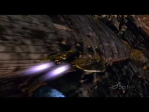 Battlestar Galactica Fight Scene