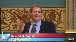 Sen. McBroom remembers Tom Casperson