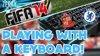 FIFA 14 - Playing With A Keyboard