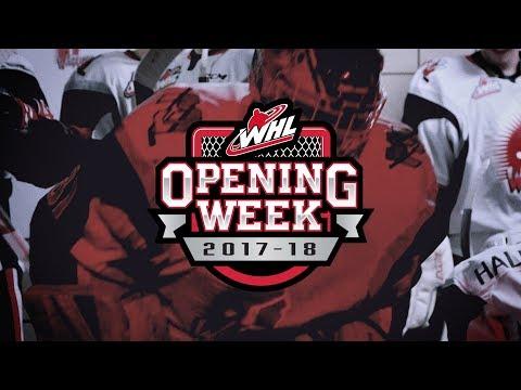 WHL Opening Week 2017-18