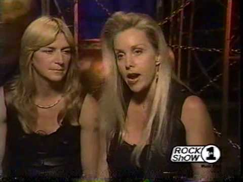 2000 - The Runaways (70s girl punk rock band) Interview clips