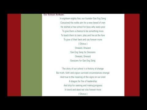 Gan Eng Seng School Song Rap By Eyozaft