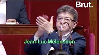 Quand Jean-Luc Mélenchon applaudit une députée
