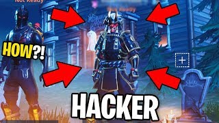 HACKER Shows Me EVERY UNRELEASED SKIN on Fortnite! (how is this possible?)