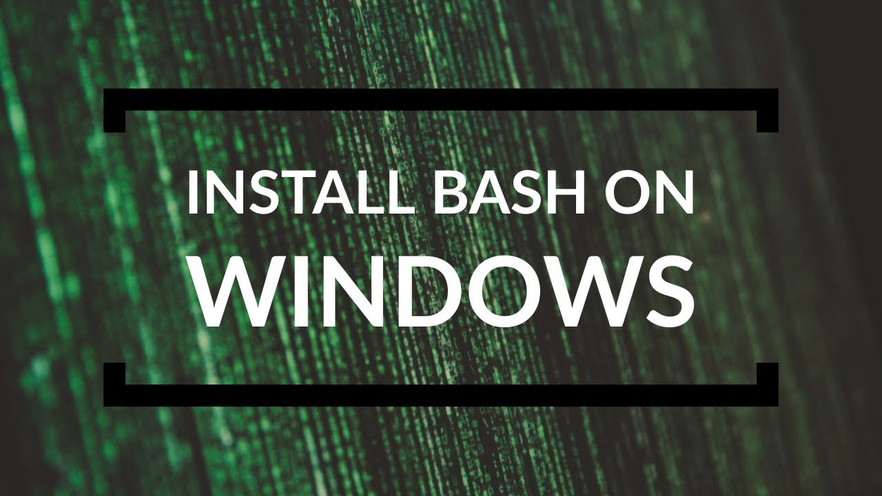 Install Linux BASH in Windows XP/7/8/8.1