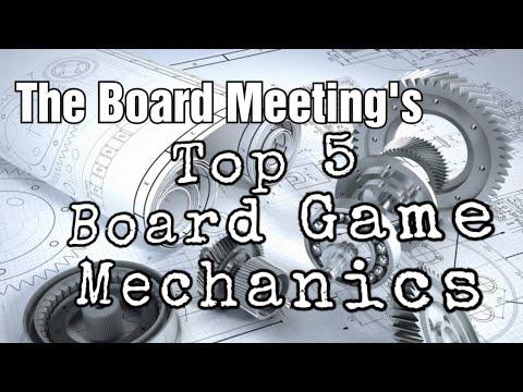 Top 5 Board Game Mechanics
