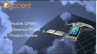 Yealink CP960 Conference Phone Review (Android IP Phone)