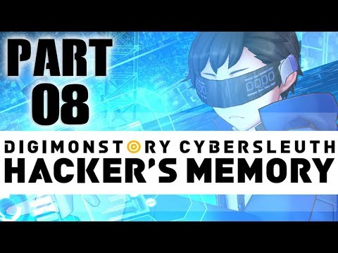 Digimon Story: Cyber Sleuth Hacker's Memory English Playthrough with Chaos part 8: Lunamon's Dream
