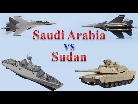 Saudi Arabia vs Sudan Military Comparison 2017