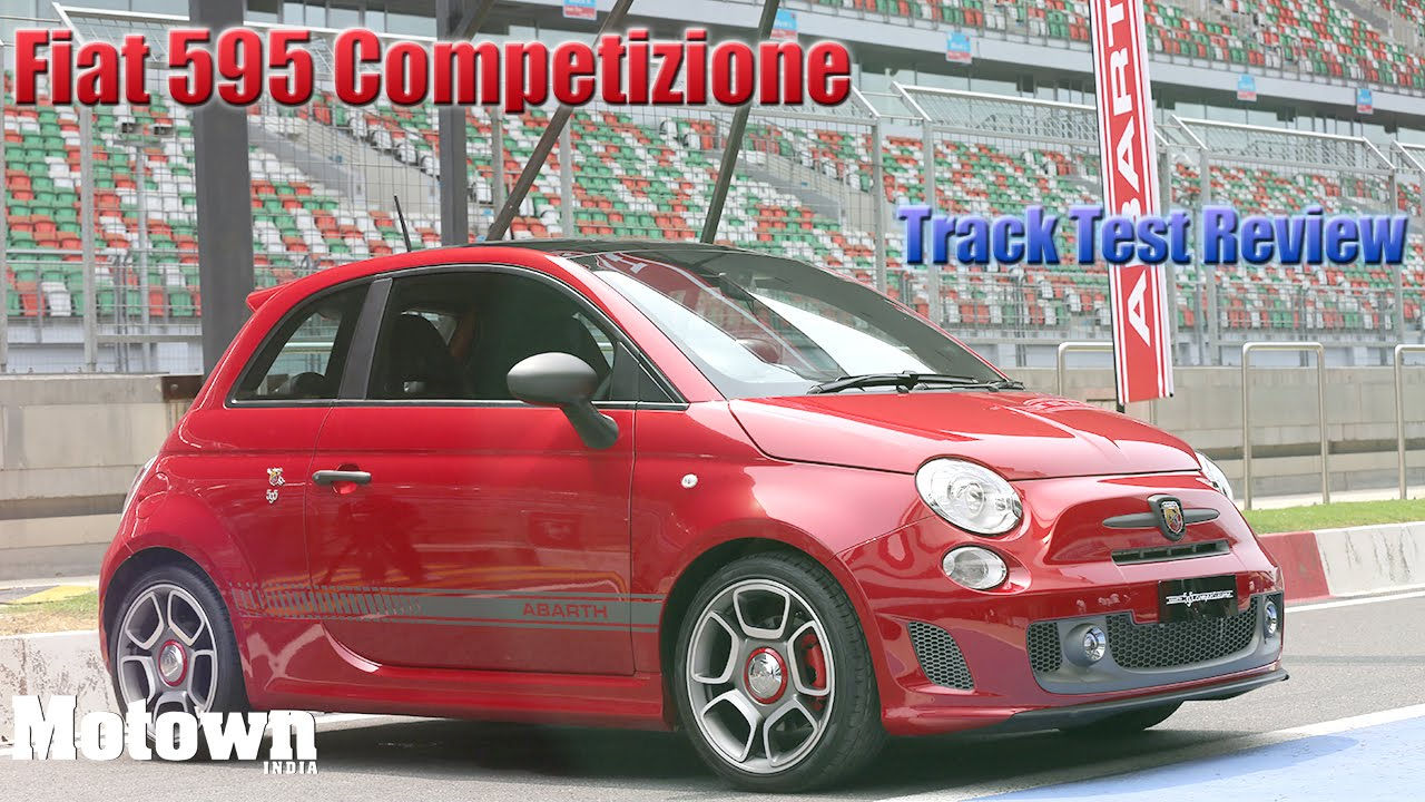 fiat abarth 595 competizione review track test first drive motown india youtube. Black Bedroom Furniture Sets. Home Design Ideas