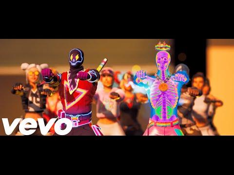 Fortnite - In Da Party (Official Fortnite Music Video) J Balvin, Skrillex - In Da Getto | @J Balvin