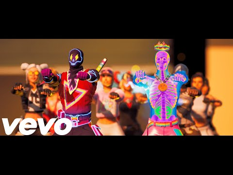Fortnite  In Da Party Official Fortnite Music Video J Balvin Skrillex  In Da Getto  J Balvin