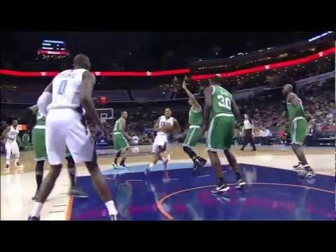 Byron Mullens 25 points 18 rebounds vs Celtics