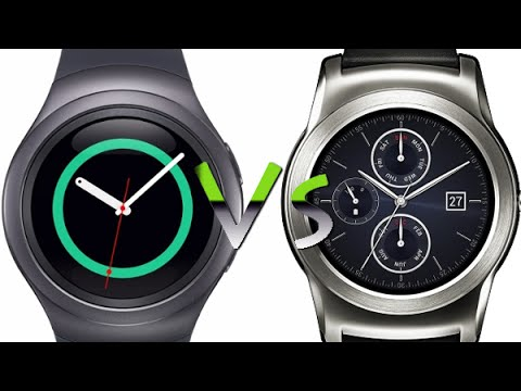 Gear S2 vs Android Wear - Side by Side OS Comparison