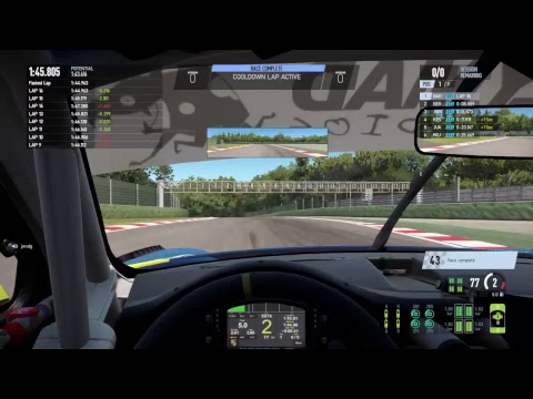 Project CARS 2 - Online Championships Thursday - Imola - Onboard with BadBullRacing