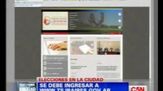 C5N - POLITICA: ELECCIONES PORTEÑAS 2011 [DONDE VOTO]
