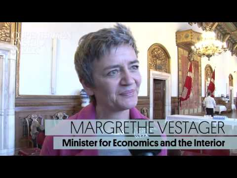 Margrethe Vestager, Minister for Economics and the Interior, Interview AW14