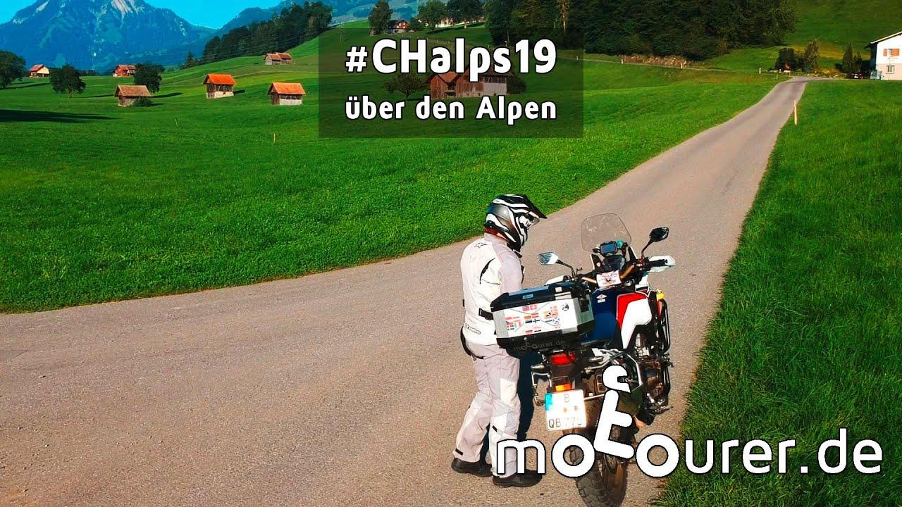#CHalps19 - über den Alpen - motourer.de