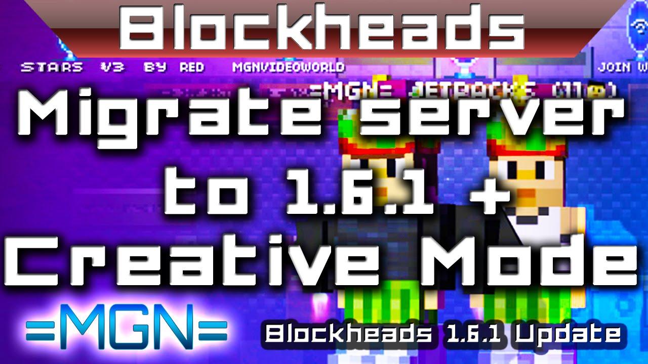 Blockheads cheats 1.6