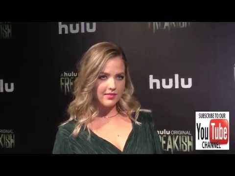 Aislinn Paul at the Premiere Of Hulu's Freakish at Smogshoppe in Los Angeles