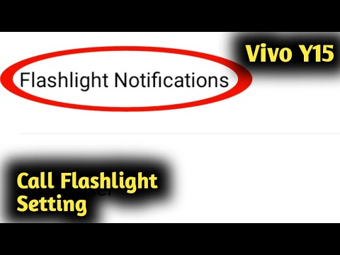 vivo-y15-call-flash-settings