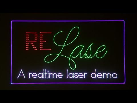 reLase - A realtime laser demo