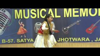 Classical Dance on Manwa Lage Re by Rhythm Student