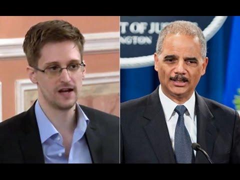 Eric Holder: Edward Snowden Did A