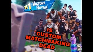 Custom Matchmaking Fortnite Funniest Moments Sub to Play with king of bots