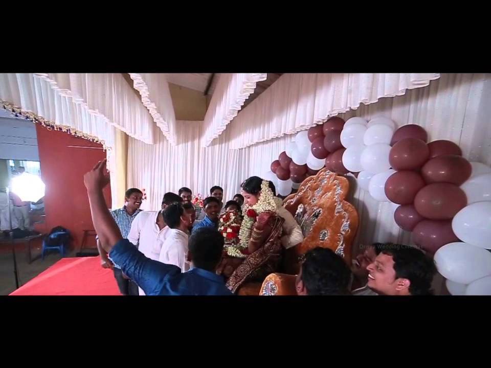 Aswathy wedding