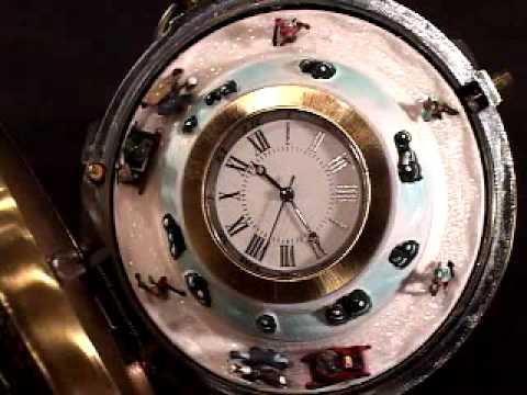 Sleigh Pocket Watch