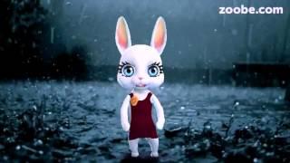 zoobe зайка художник что рисует дождь