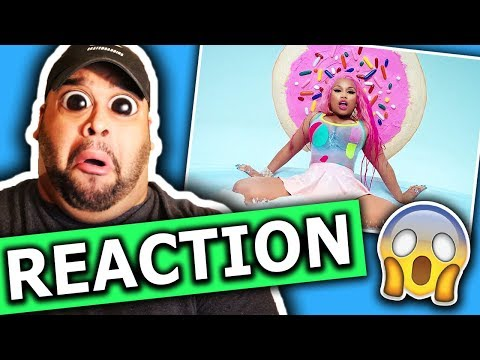 Nicki Minaj - Good Form ft Lil Wayne   REACTION