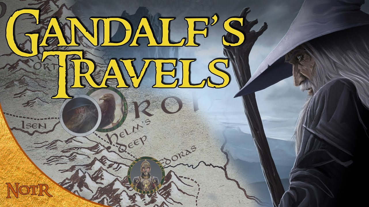 Download The Complete Travels of Gandalf | Tolkien Explained