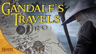 The Complete Travels of Gandalf | Tolkien Explained
