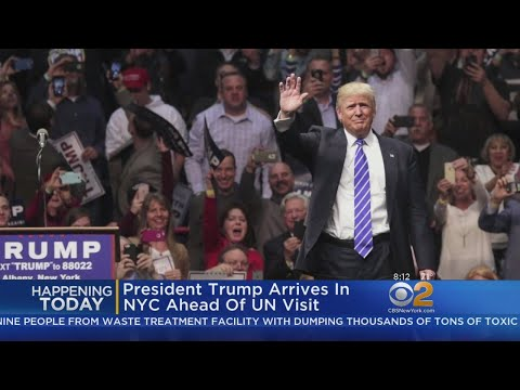 President Trump Heading To NYC For UN General Assembly
