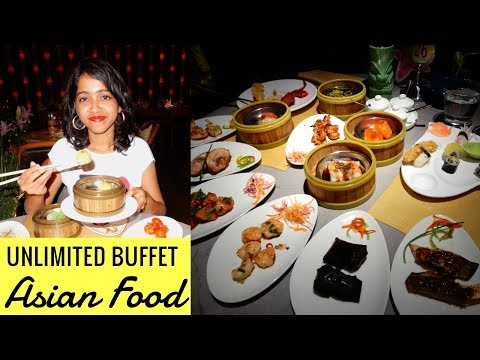 Unlimited Buffet Asian Food | Japanese Cuisine | Mumbai Food